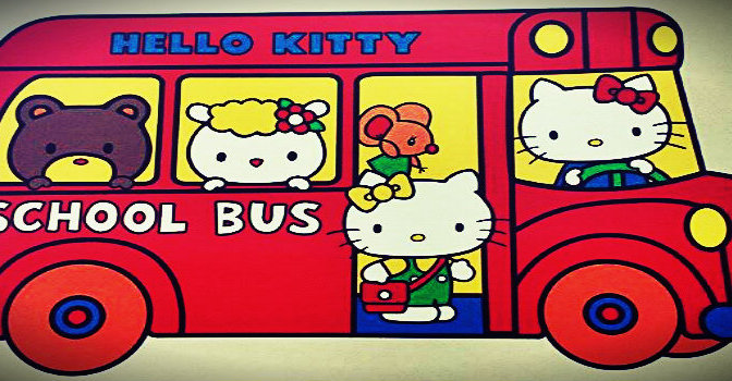 The K does Hello Kitty