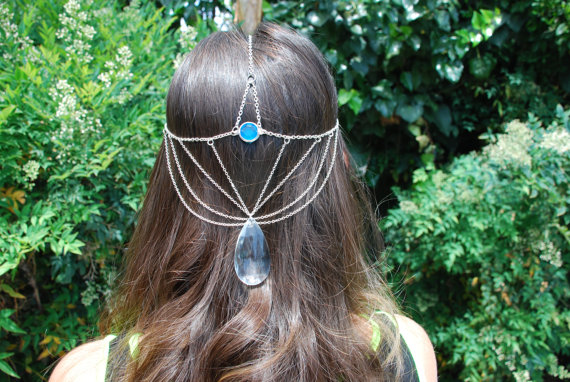 Ice Princess Head Jewelry
