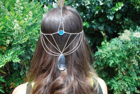 Ice Princess Head Jewelry