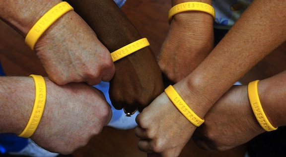 Livestrong Bracelets: By Lance Armstrong, for the fight against cancer in 2004.