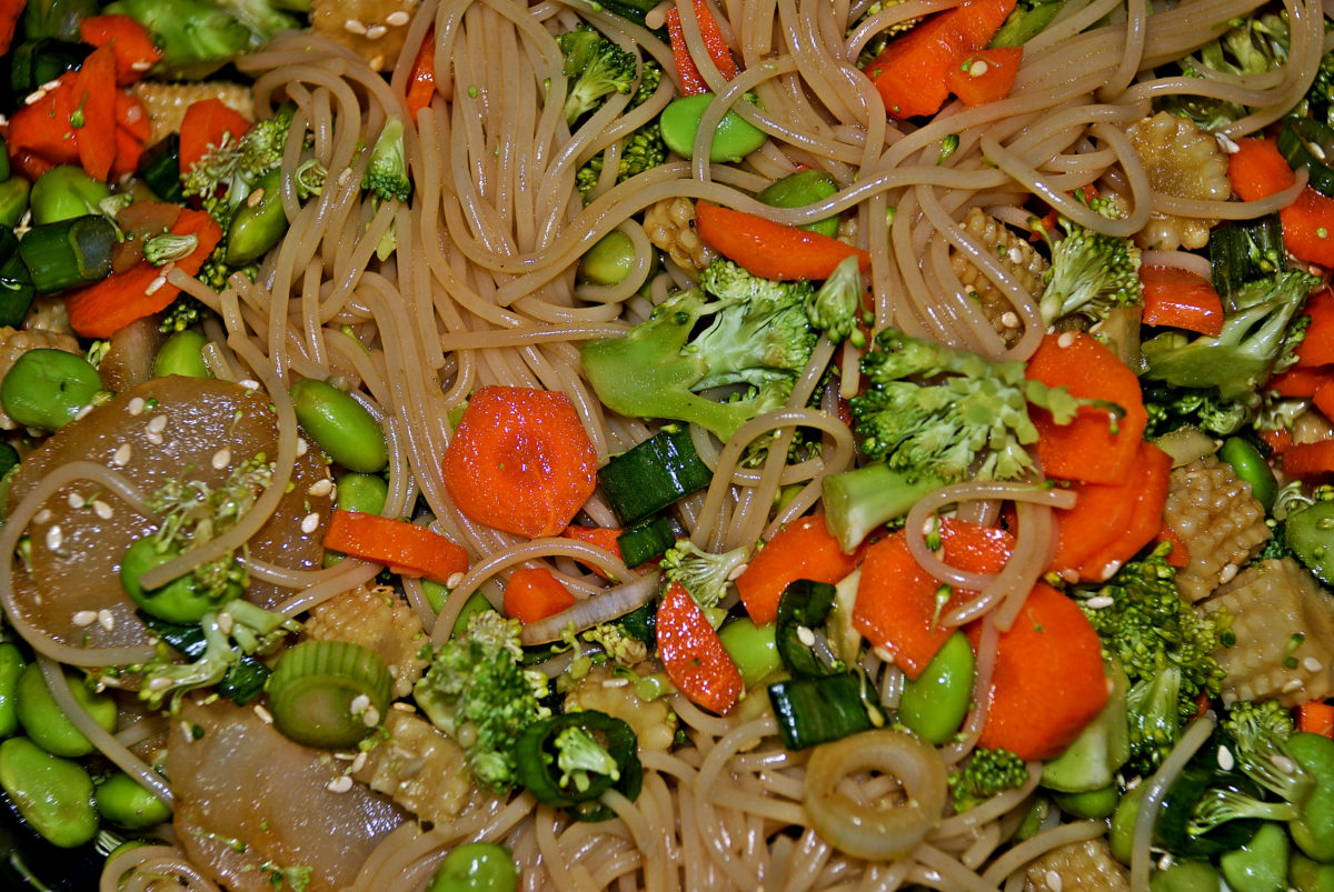 Pan Asian Poor Pasta